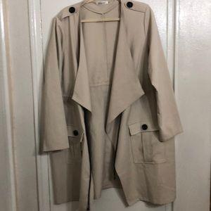 Jackets & Blazers - Plus size trench coat sz. 3X